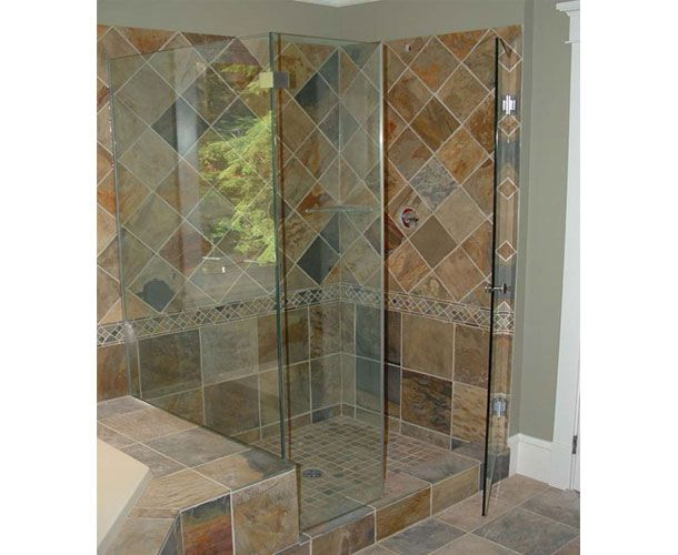Stand Up Shower Surrounds | Stand up shower next to tub | For the ...