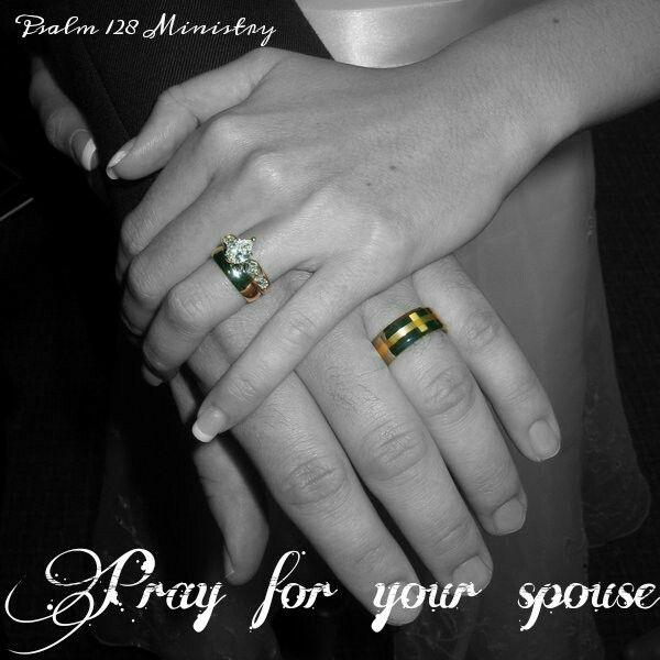 Pray For Your Spouse Rings For Men Marriage And Family Class Ring