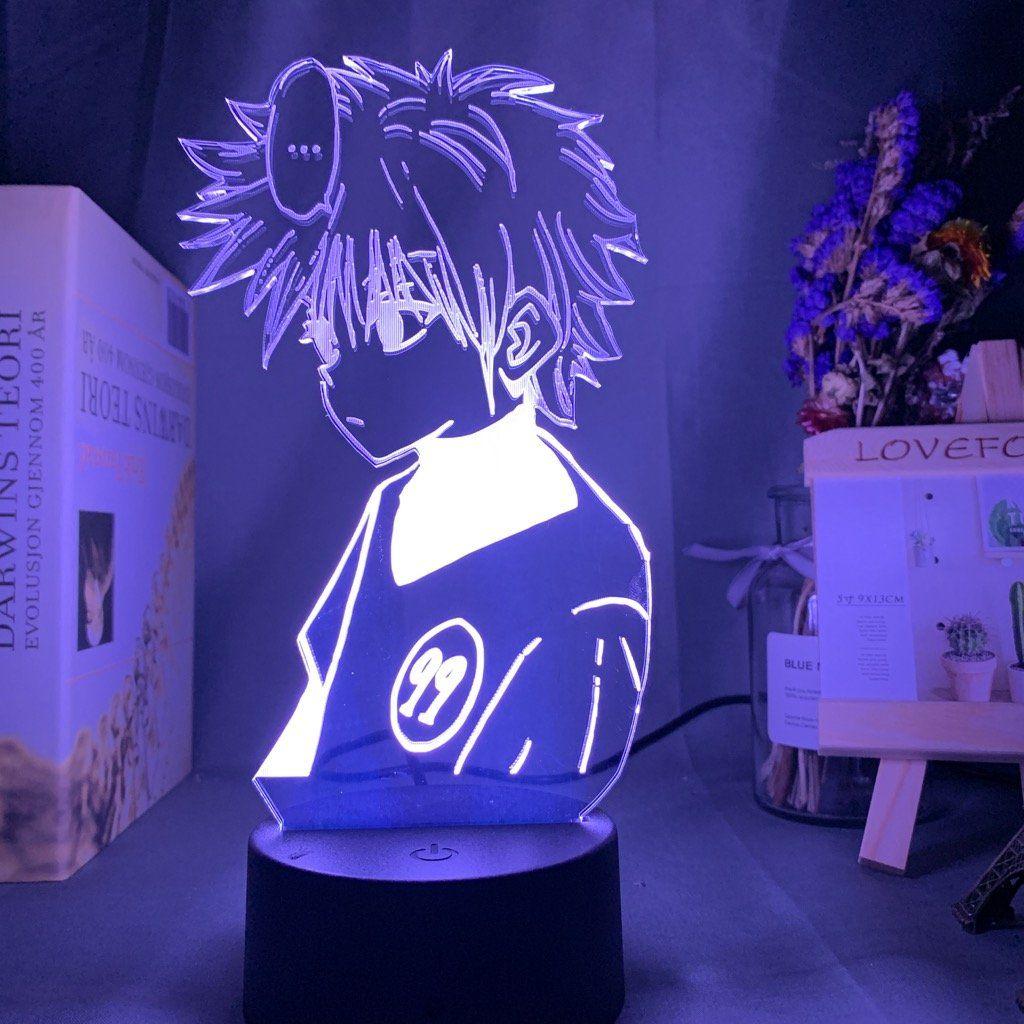 Hunter Exam Killua Led Lamp In 2020 Anime Decor Anime Crafts Killua