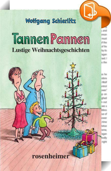 TannenPannen - Lustige Weihnachtsgeschichten    ::  In diesem Buch führt uns Wolfgang Schierlitz ein weiteres Mal die Tücken des Weihnachtsfestes vor Augen. Auf amüsante Weise schildert er, wie man die richtige Geschenkauswahl für seine Lieben trifft. Schwierigkeiten ergeben sich dabei vor allem bei den Kleinsten, die in ihrer Neugier und Unbefangenheit den lieben Onkel als Nikolaus identifizieren. Ein Wettstreit über das schönste Krippenspiel endet in der friedlichen Zeit schon mal in...