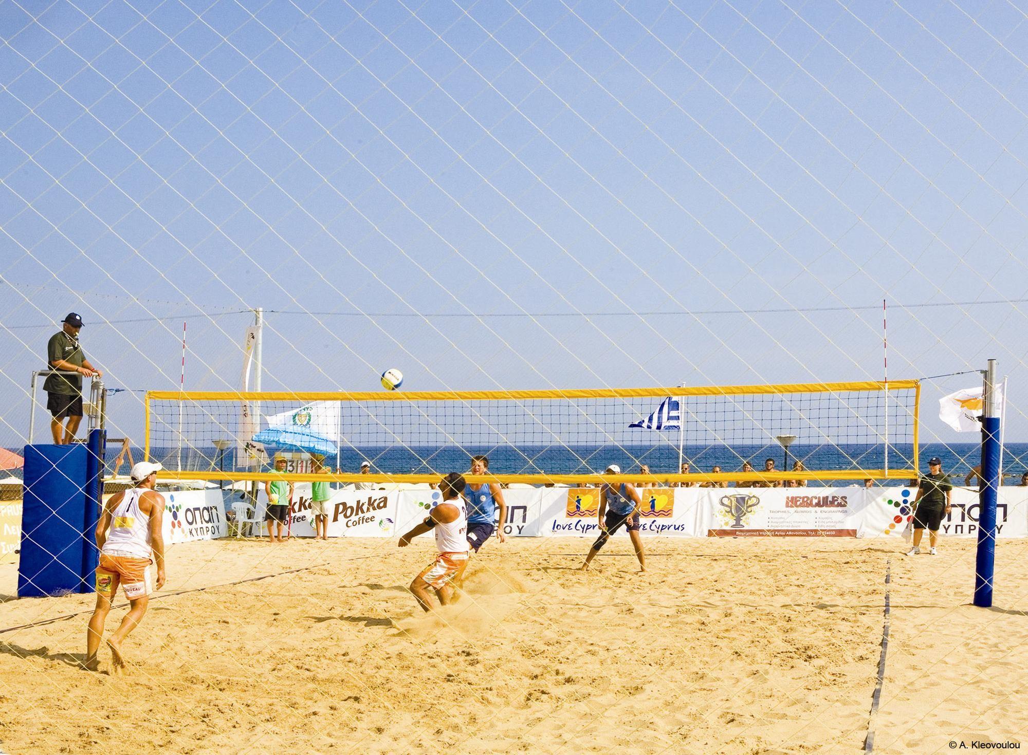 Cyprus Beach Volleyball Beach Resorts Travel Travel Savings