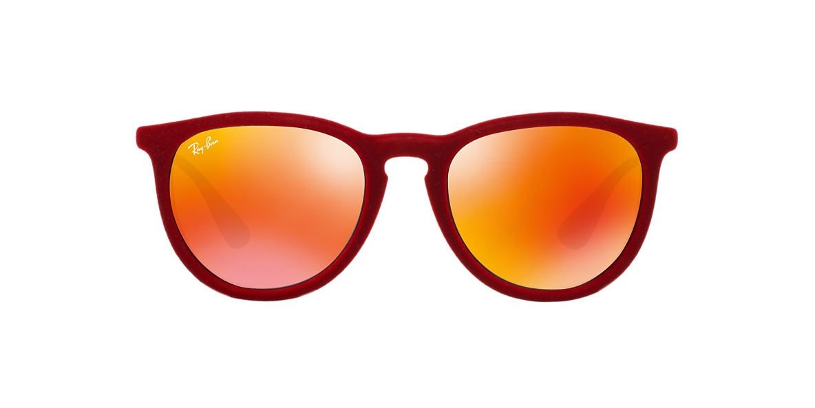 RAY-BAN Red RB4171 54 ERIKA Orange lenses 54mm | Eyewear | Pinterest