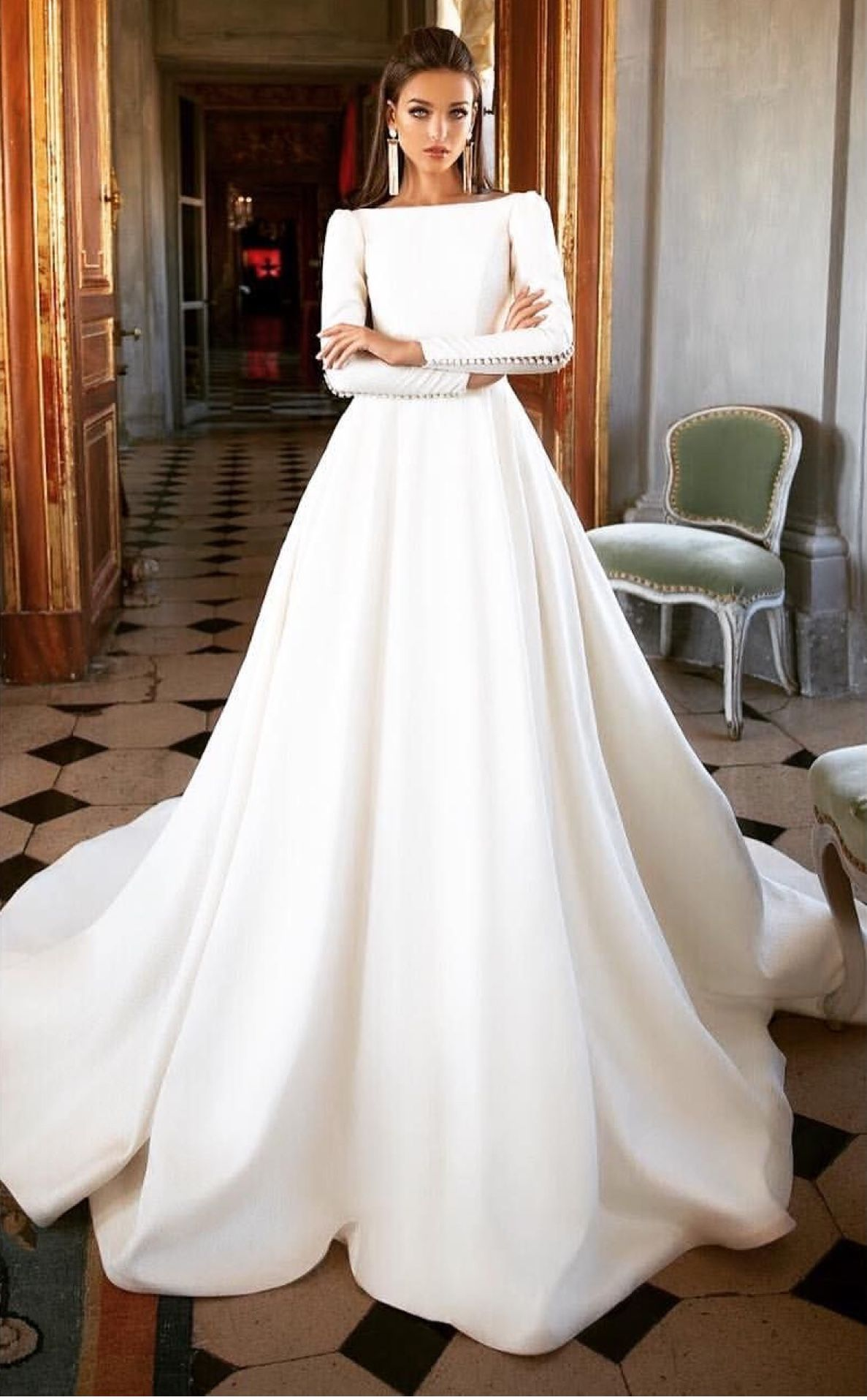 Contemporary Style Gorgeous For A Winter Wedding Dugun Milla