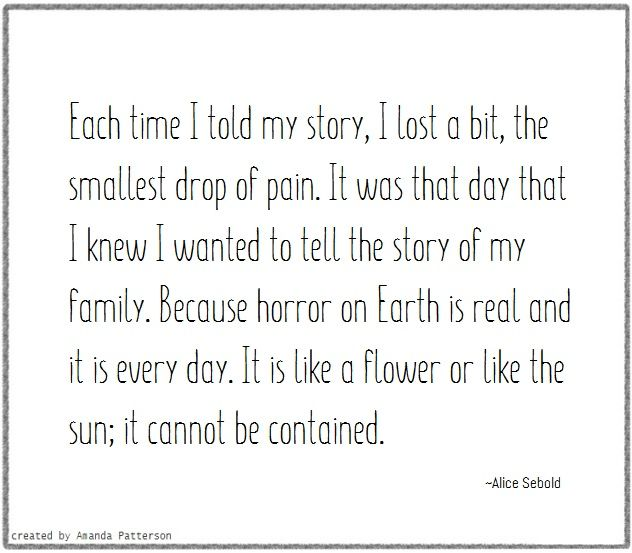 Quotable - Alice Sebold
