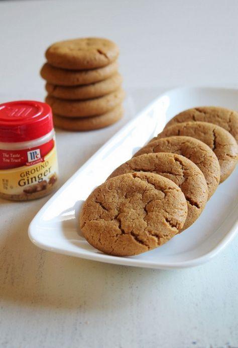 Eggless Ginger Cookies Recipe Baking Cookies Ginger Cookies