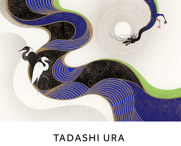 Tadashi Ura ::  Tadashi's artworks live in the world of Japanese motifs and old world mysticism of great Tokyo.