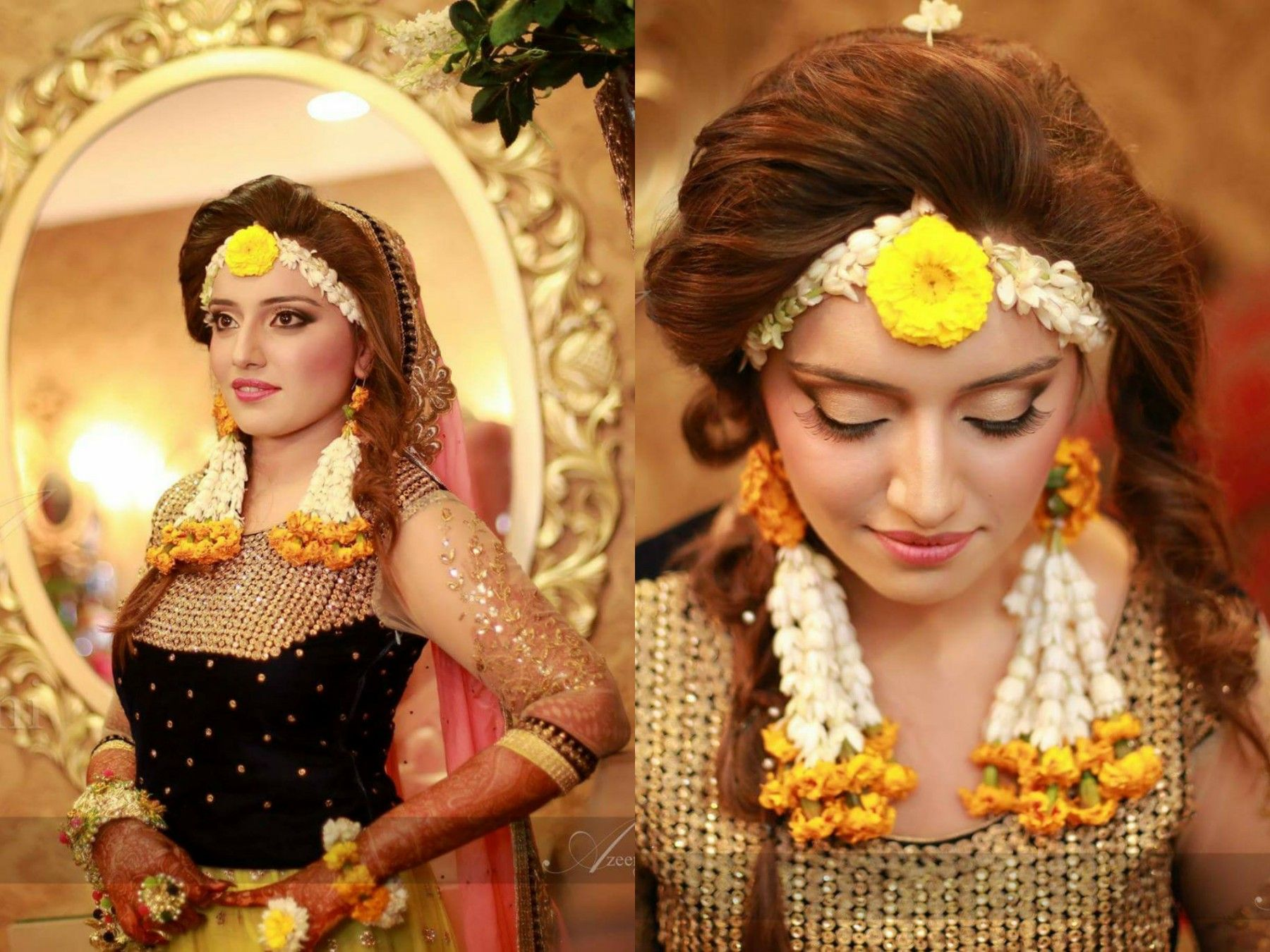 Mehndi Makeup And Hairstyle : Mehndi bride photography by azeemi studio wedding of