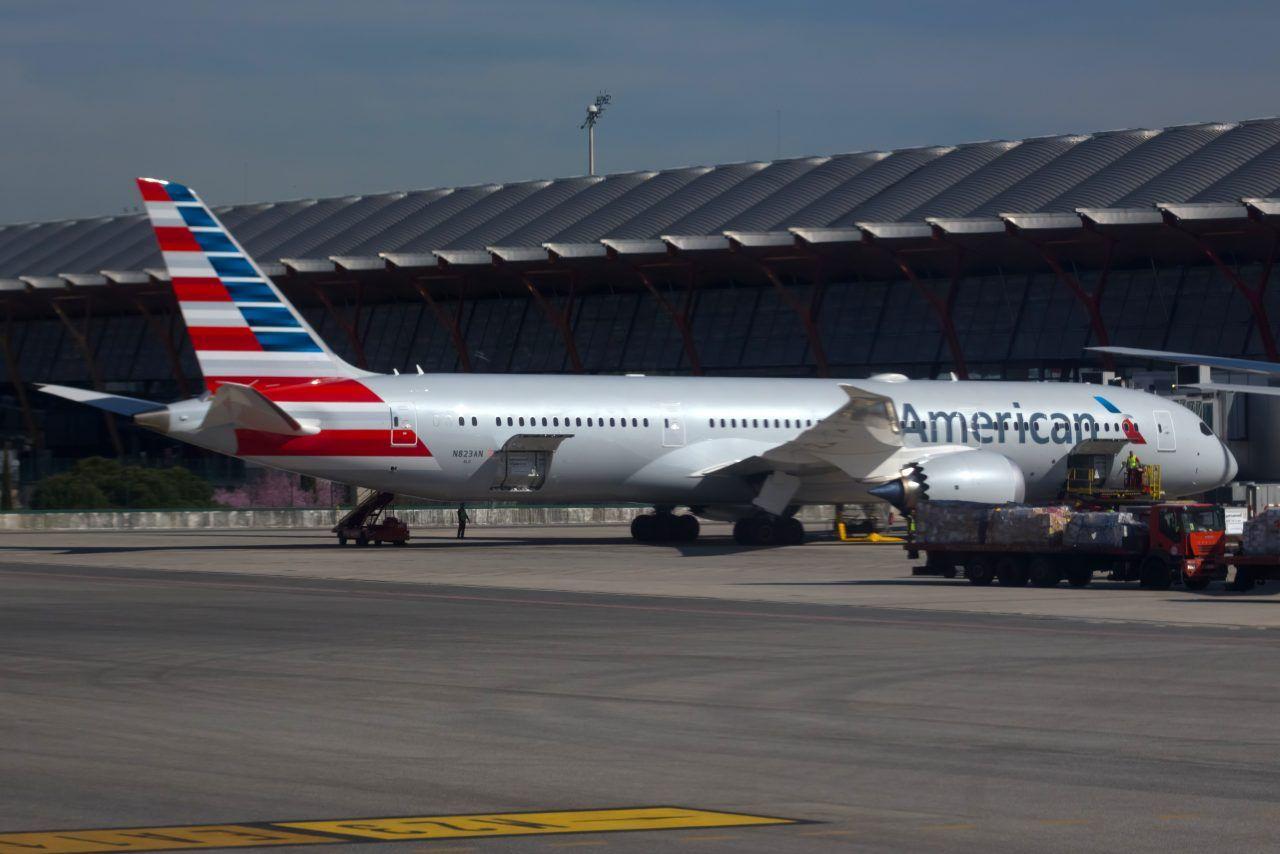 American Airlines Fleet Boeing 7879 Dreamliner Details