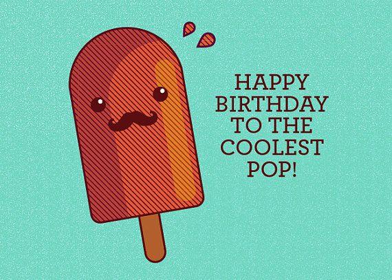 happy birthday pop Dad Birthday Card