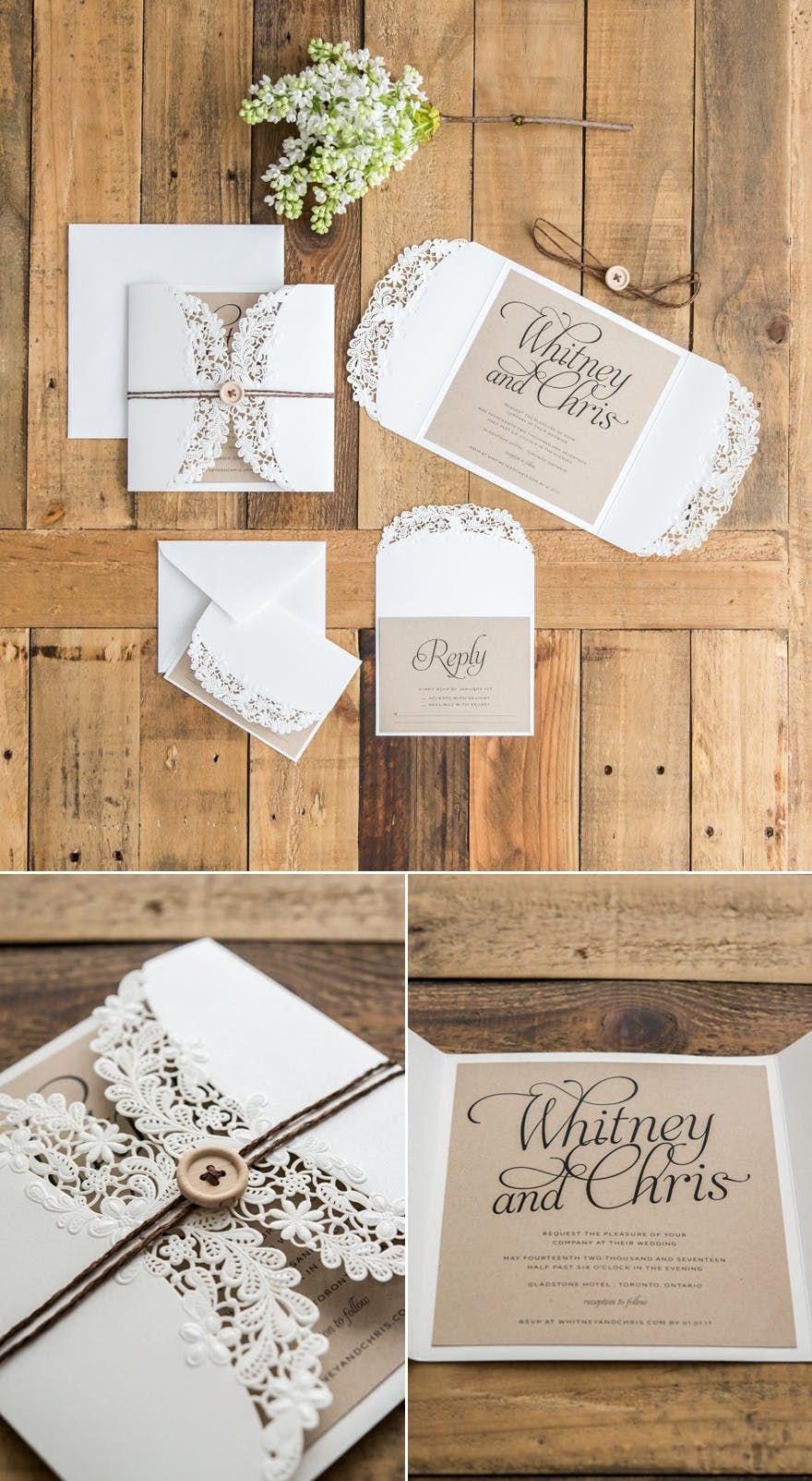 Beautiful Diy Wedding Invitation Ideas You Ll Want To Use