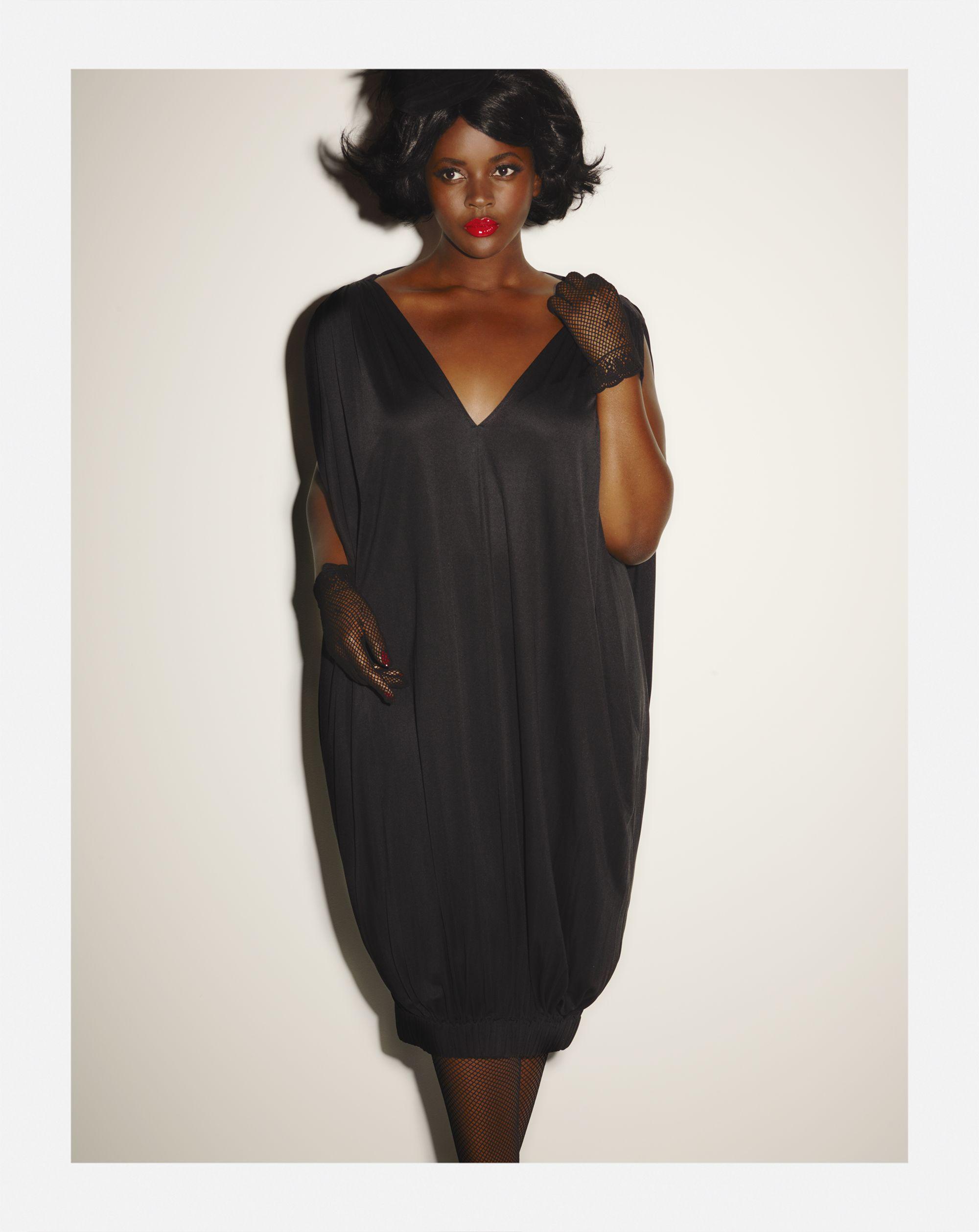 Double Bubble Dress - Noir | ****FASHION CURVES FOR THE PLUS ...