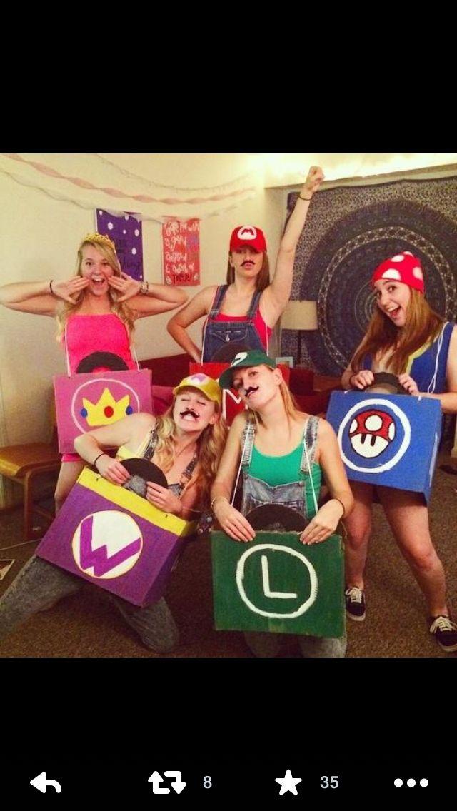 Mario Kart Halloween Costumes  sc 1 st  Pinterest & Mario Kart Halloween Costumes | Holidays | Pinterest | Mario kart ...