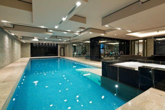 Heathways Swimming Pool Http Www Glentree Co Uk Property Heathways Courtenay Avenue N6 N6 4lr 674 Html Indoor Pool Design Home Spa Room Small Indoor Pool
