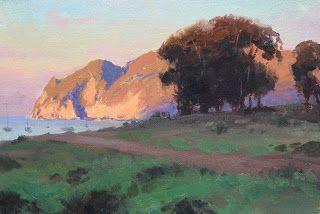 Jesse Powell Fine Art Blog Landscape Paintings Seascape Artists Island Art