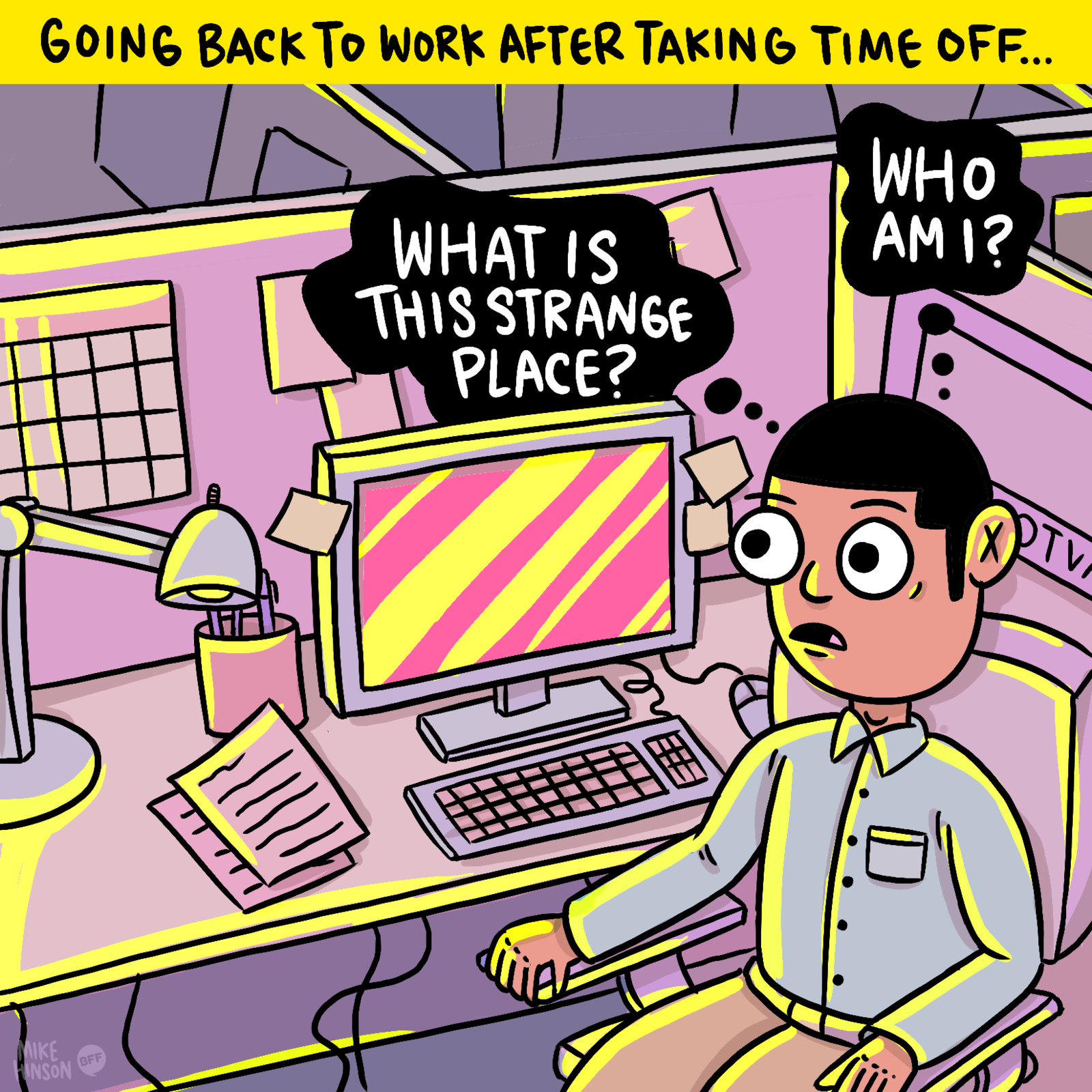 17 Memes That Are Way Too Real For Office Workers Back