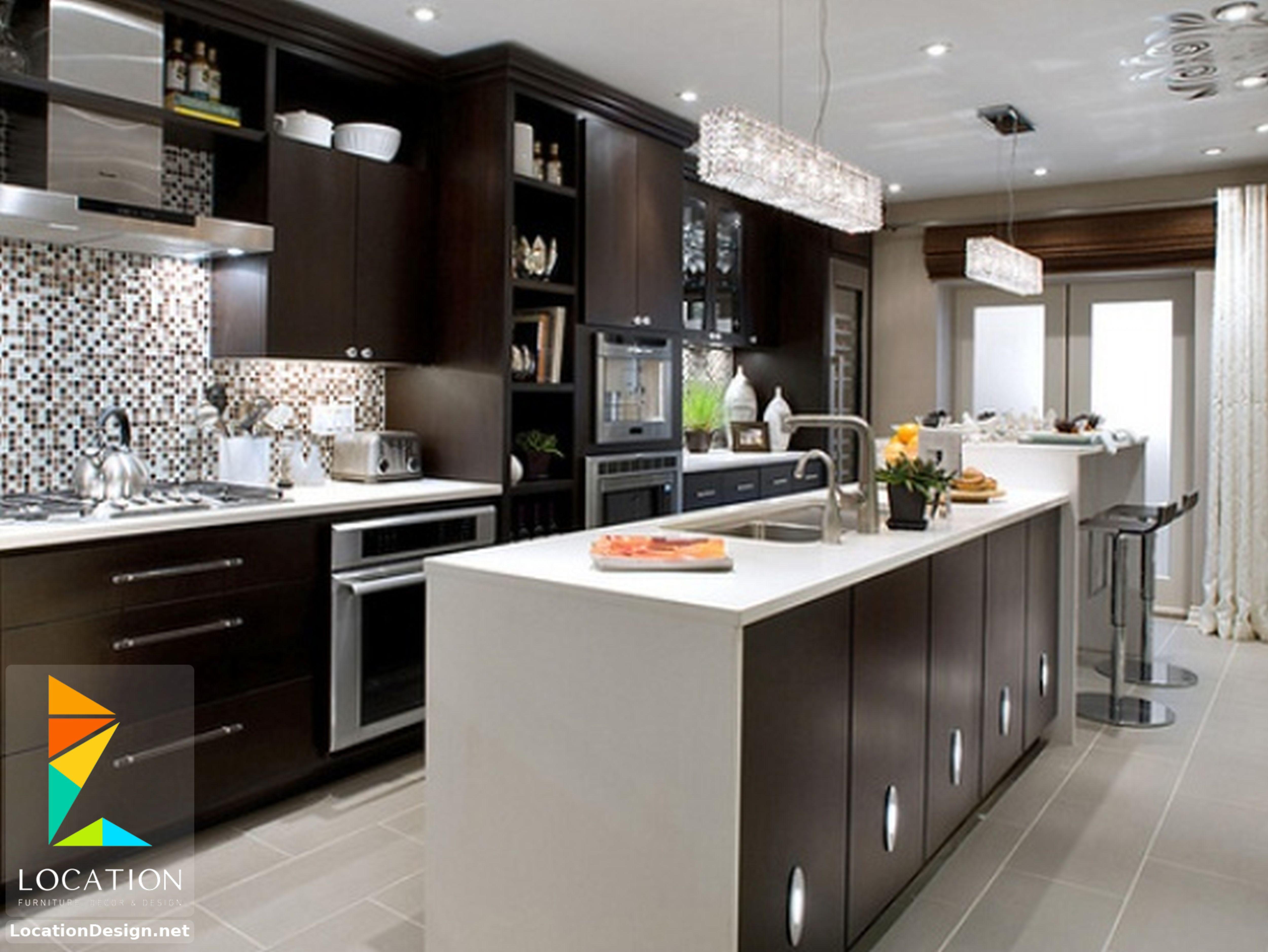 ديكورات مطابخ مودرن صغيرة 2019 2020 Kitchen Inspiration Design Kitchen Decor Modern Interior Design Kitchen