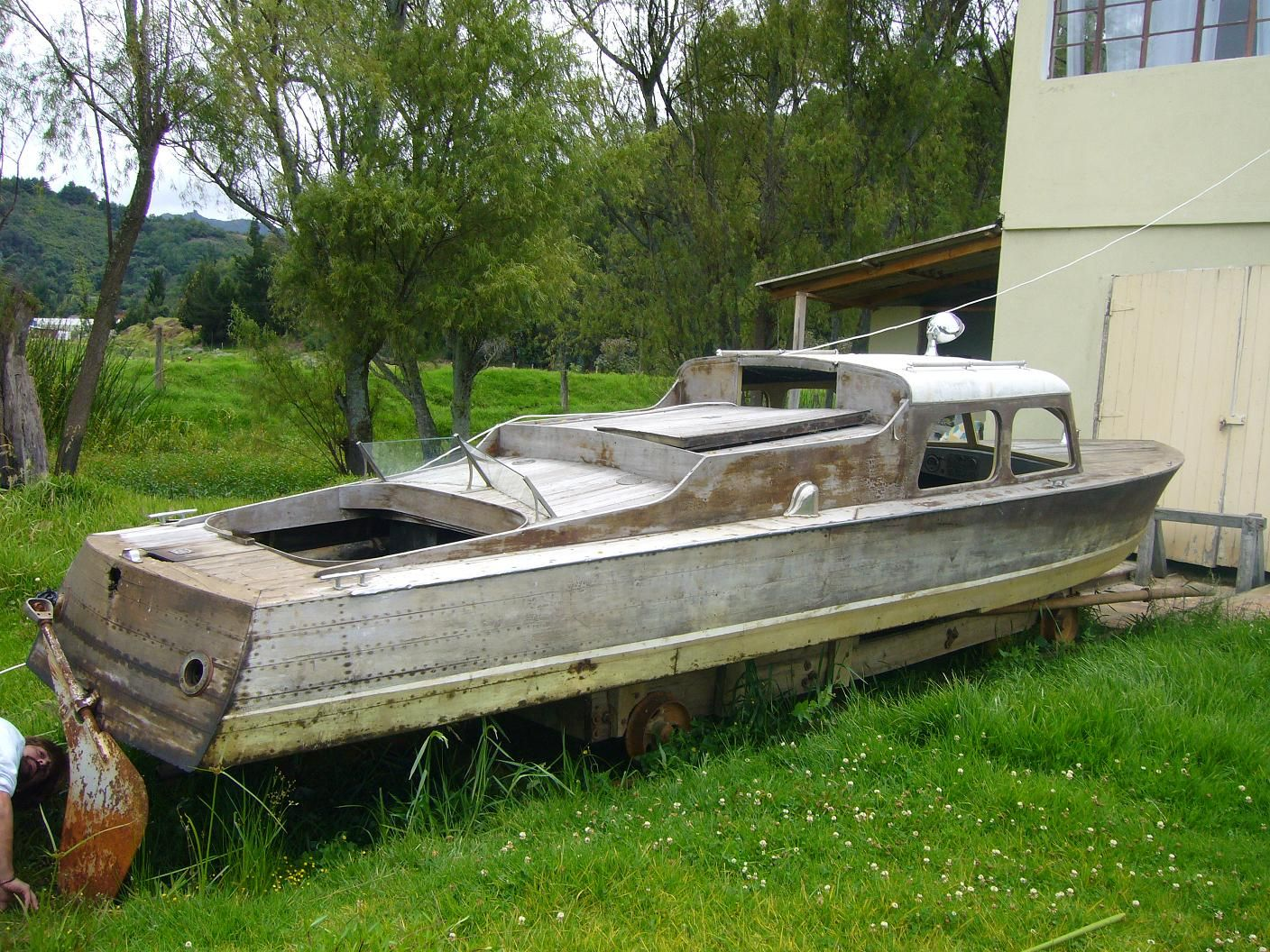 Need Help identifying an old wooden boat - Boat Design Forums | Boats | Pinterest | Boat design ...