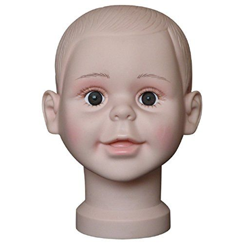 Vovotrade Child Mannequin Manikin Head Model For Wig Hat Mould Show Stand Display (Big) -- Read more  at the image link.