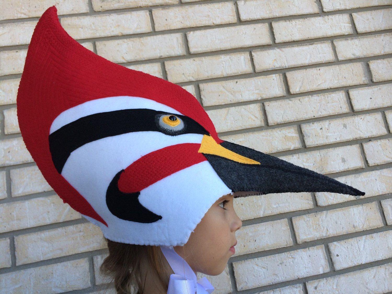 Pileated Woodpecker Costume- bird woodpecker animal halloween costume Gorras  De Animales 0e6f1bd4cc2