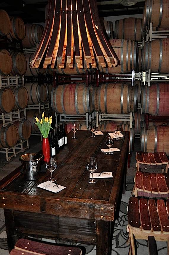 20 Glorious Contemporary Home Bar Designs You Ll Go Crazy For: @Kokomo Winery's Reserve Tasting Space In The Cellar - Perfect For Anyone!