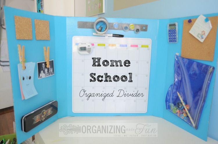 Photo of Homeschool Organizing Ideas!