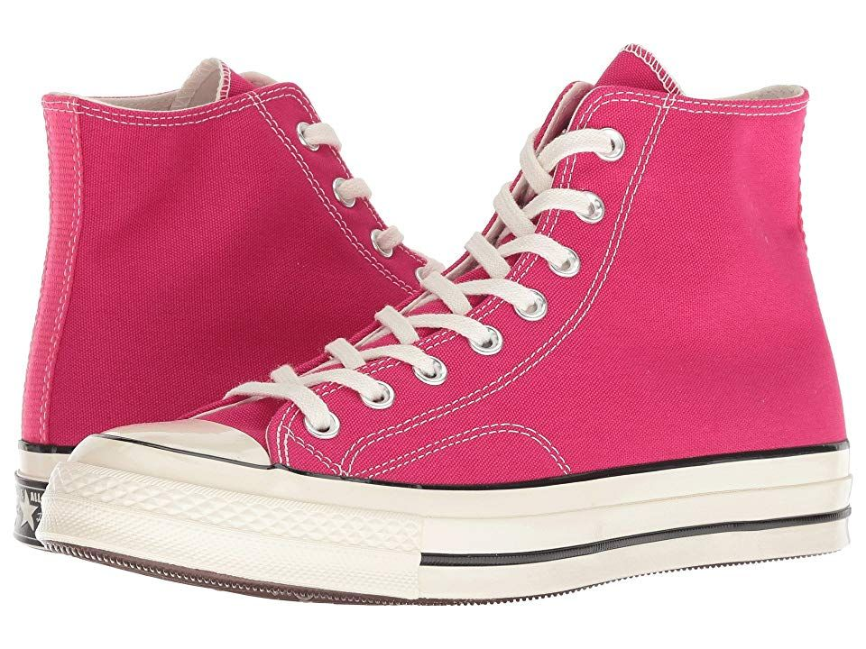 08e2f11ef3e3 Converse Chuck 70 - Seasonal Hi (Pink Pop Black Egret) Shoes. Converse  update your look with the Chuck 70 - Seasonal Hi sneakers. May vary between  wearers ...