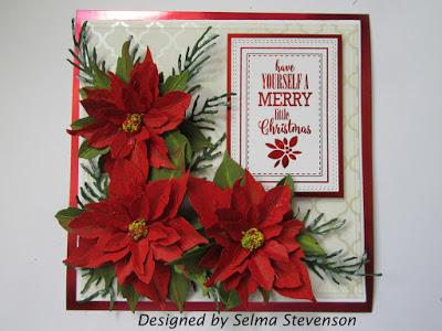New Arts /'N Flowers  Metal Cutting Dies Christmas Large Poinsettia