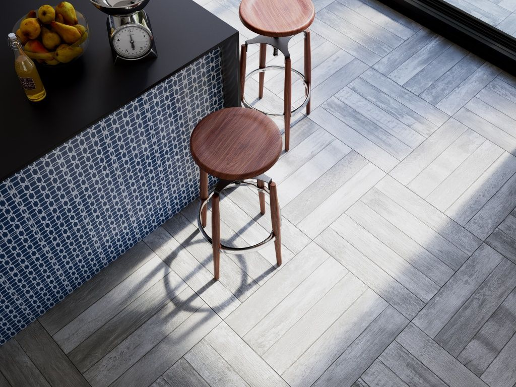 Tile Patterns can completely change the look of a room! Need Inspiration? Visit it our website! www.interceramicusa.com