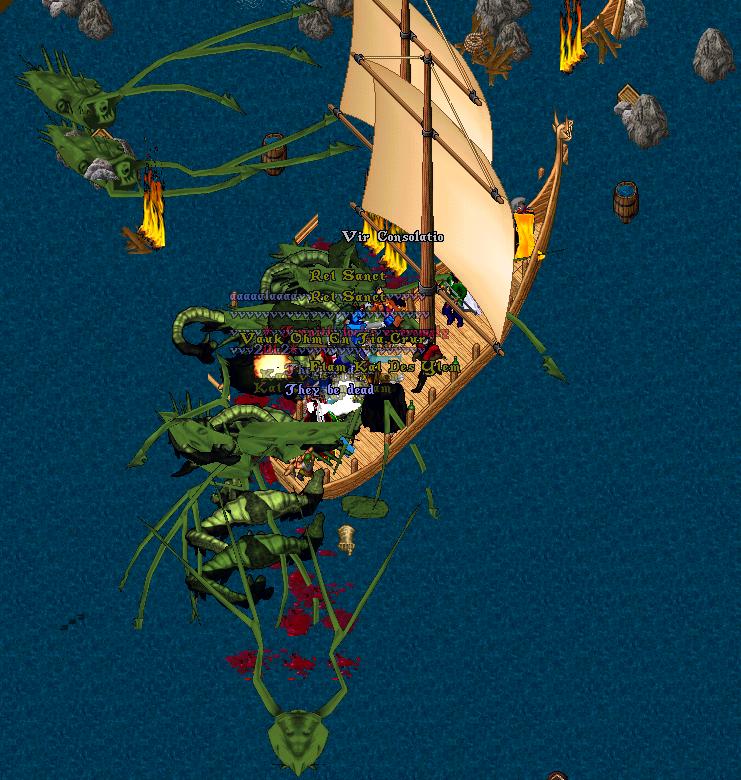 Epic Pirate Battle On Uo Evolution Custom Ultima Online Shard Www