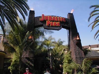 Jurassic park universal studios favorite places for Paredes 3d cali