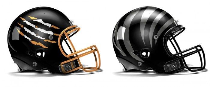 Cincinnati Bengals New Uniforms New Bengals Helmet With New Logo