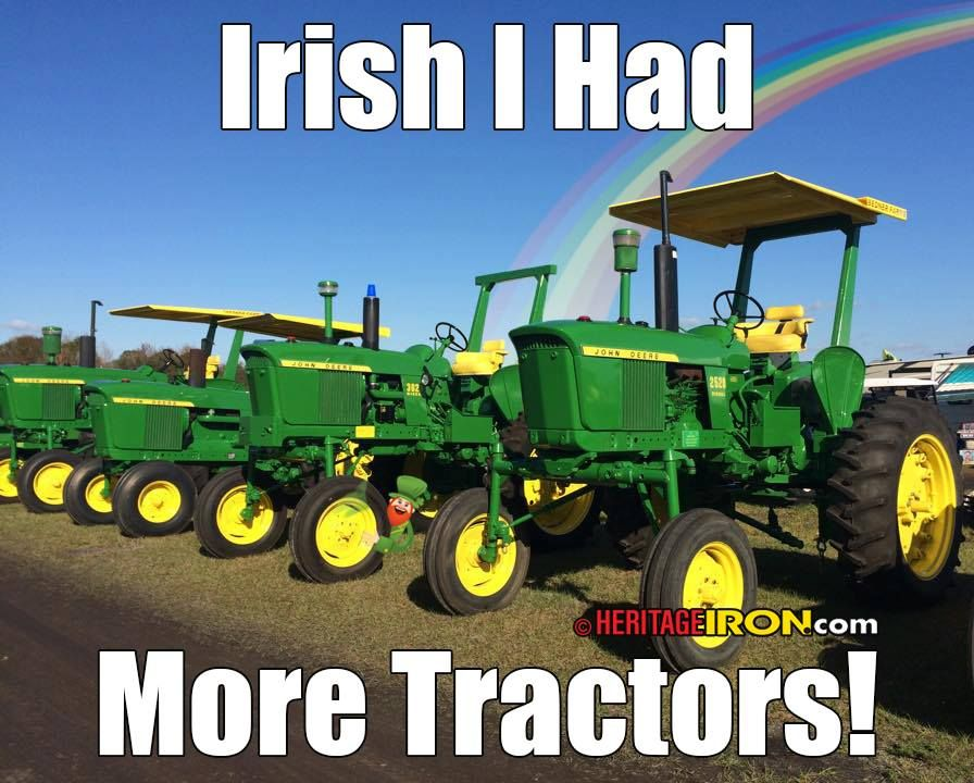 Happy St. Patrick's Day from all of us at Heritage Iron!