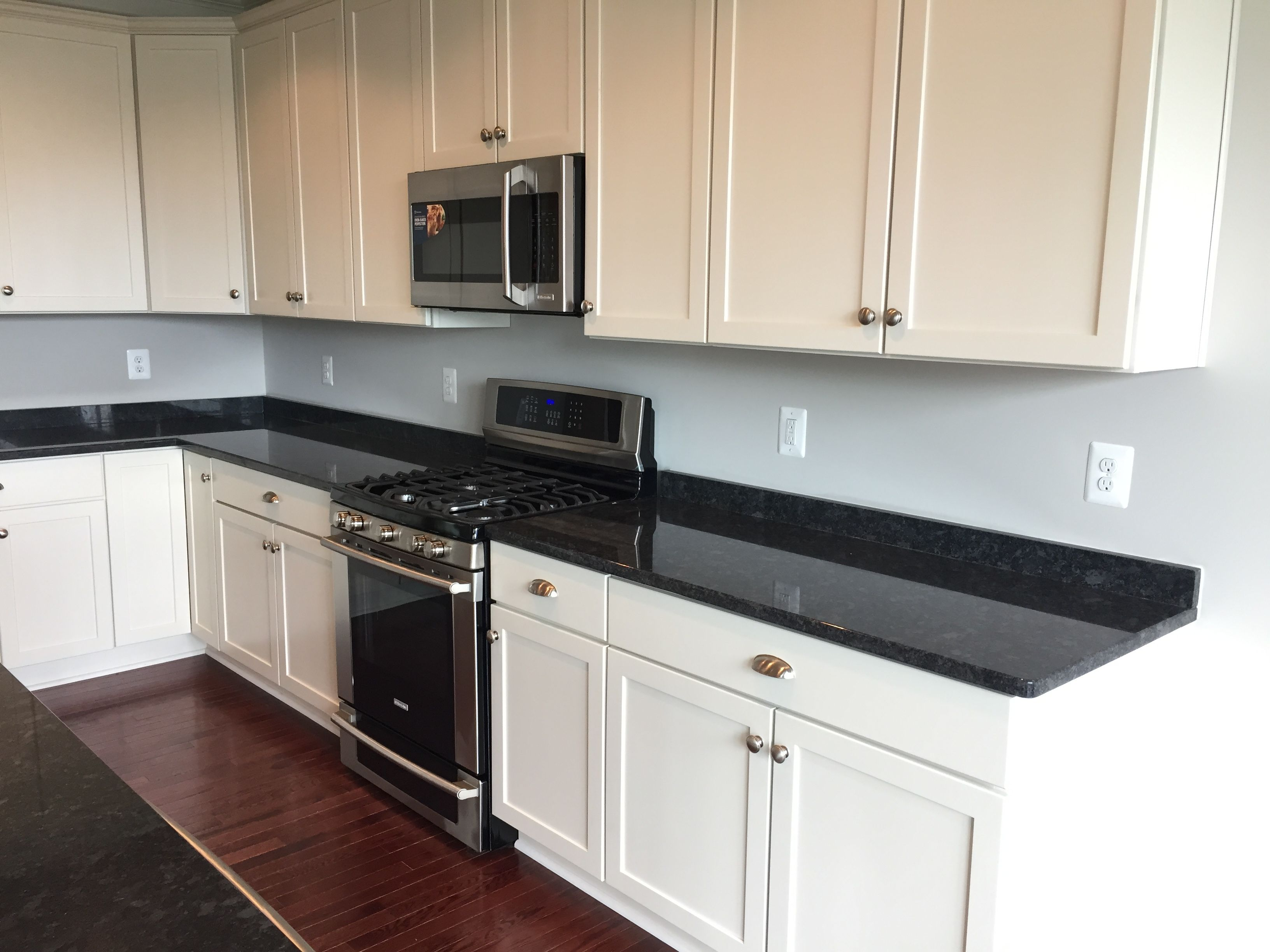 Our Builder Uses Merillat Cabinets The Classic Collection We Selected The Portrait Style Maple Cabinets House Design Kitchen Home Kitchens Kitchen Remodel