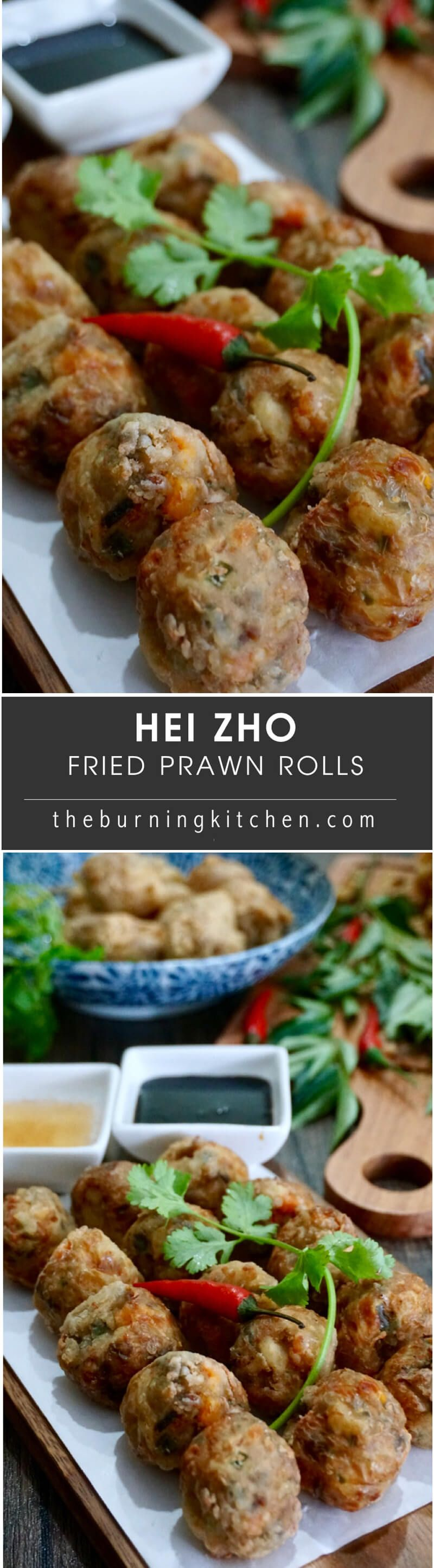 Deep Fried Prawns Roll (Hei Zho ) #chinesemeals