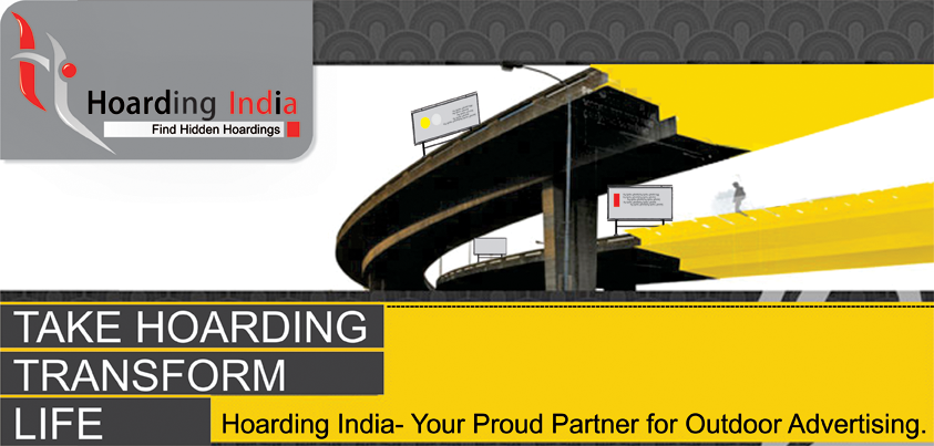 Hoarding India is a full services advertising agency undertaking a variety of promotional services for a diverse customers. From the smallest project to large campaigns, the goal for the inspired minds at Hoarding India is forever to construct the supreme interactions irrespective of the required objectives and budgetary constraints. http://hoardingindia.in/