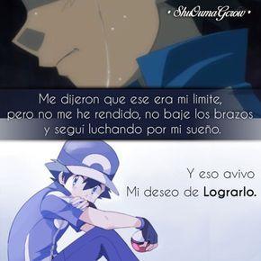 Anime Frases Frases Anime Sentimientos Shuoumagcrow Pokemon Dolor