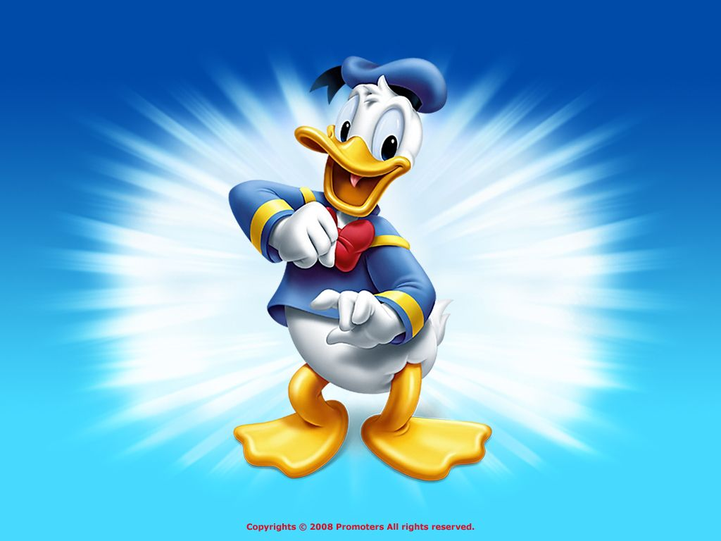 Wallpaper iphone donald duck - Donald Fauntleroy Duck Or Donald Duck Is A Funny Animal Cartoon Character Created In 1934 At