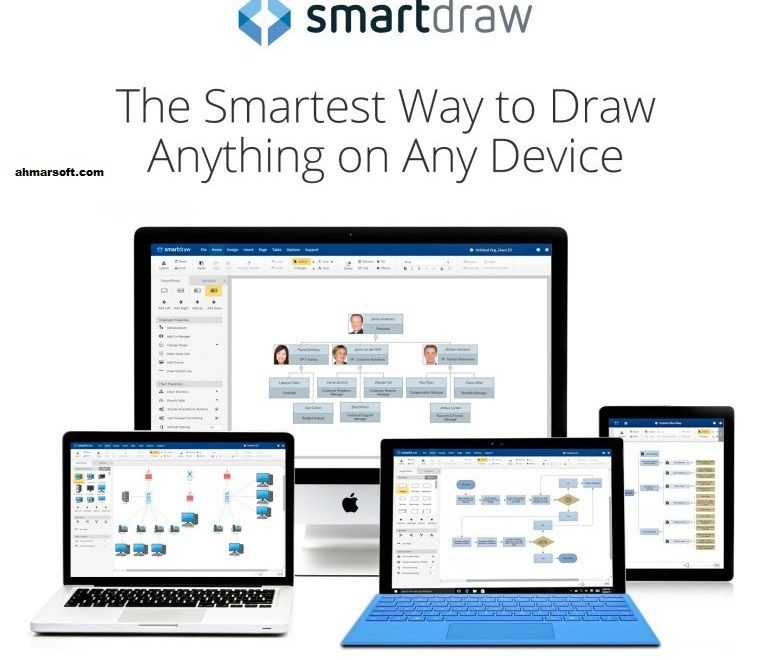SmartDraw 2018 Crack Plus Activation Key Free Download is the best