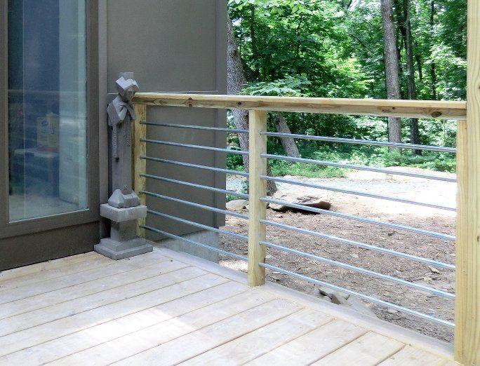 Conduit Railing Building A Deck Deck Railing Design