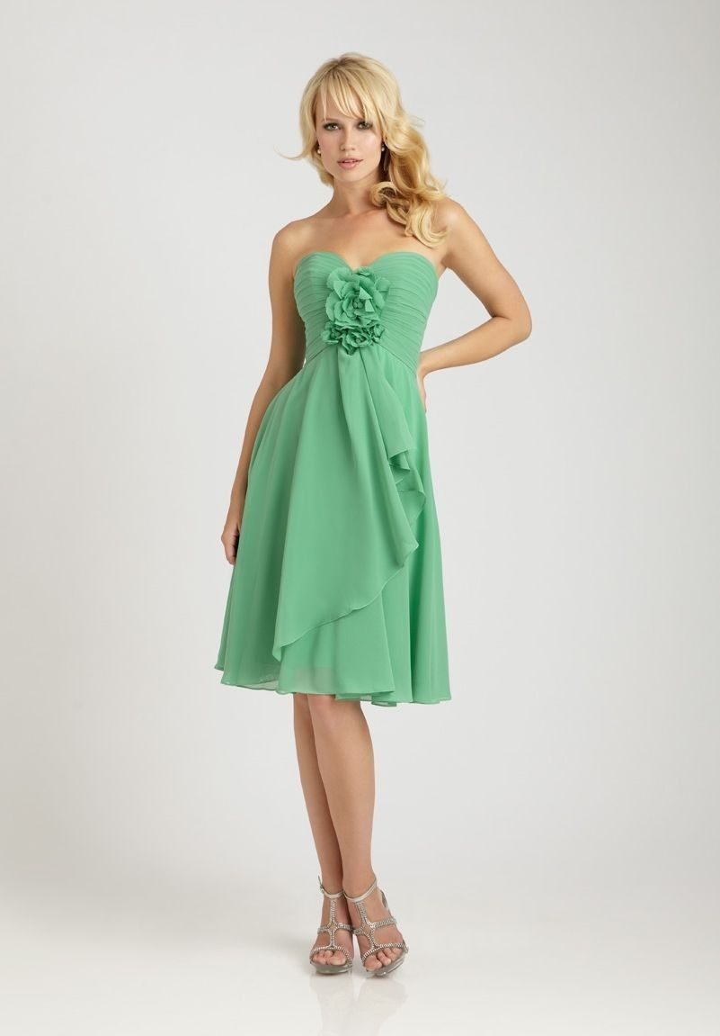 17 best images about Green Bridesmaid Dresses on Pinterest | Green ...