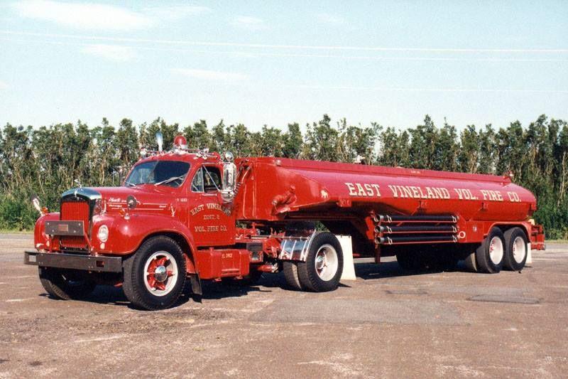 East vineland nj fd 1961 mack b61 trailmobile tanker for Motor vehicle vineland nj