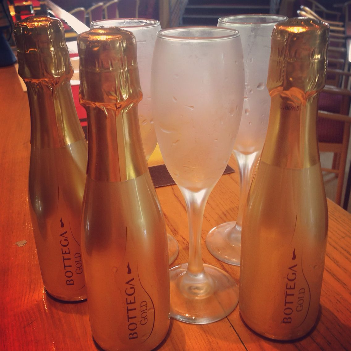Mini Prosecco bottles - £3.95 | Food and Drinks at MGC | Pinterest