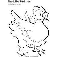 The Little Red Hen Preschool Activities and Crafts