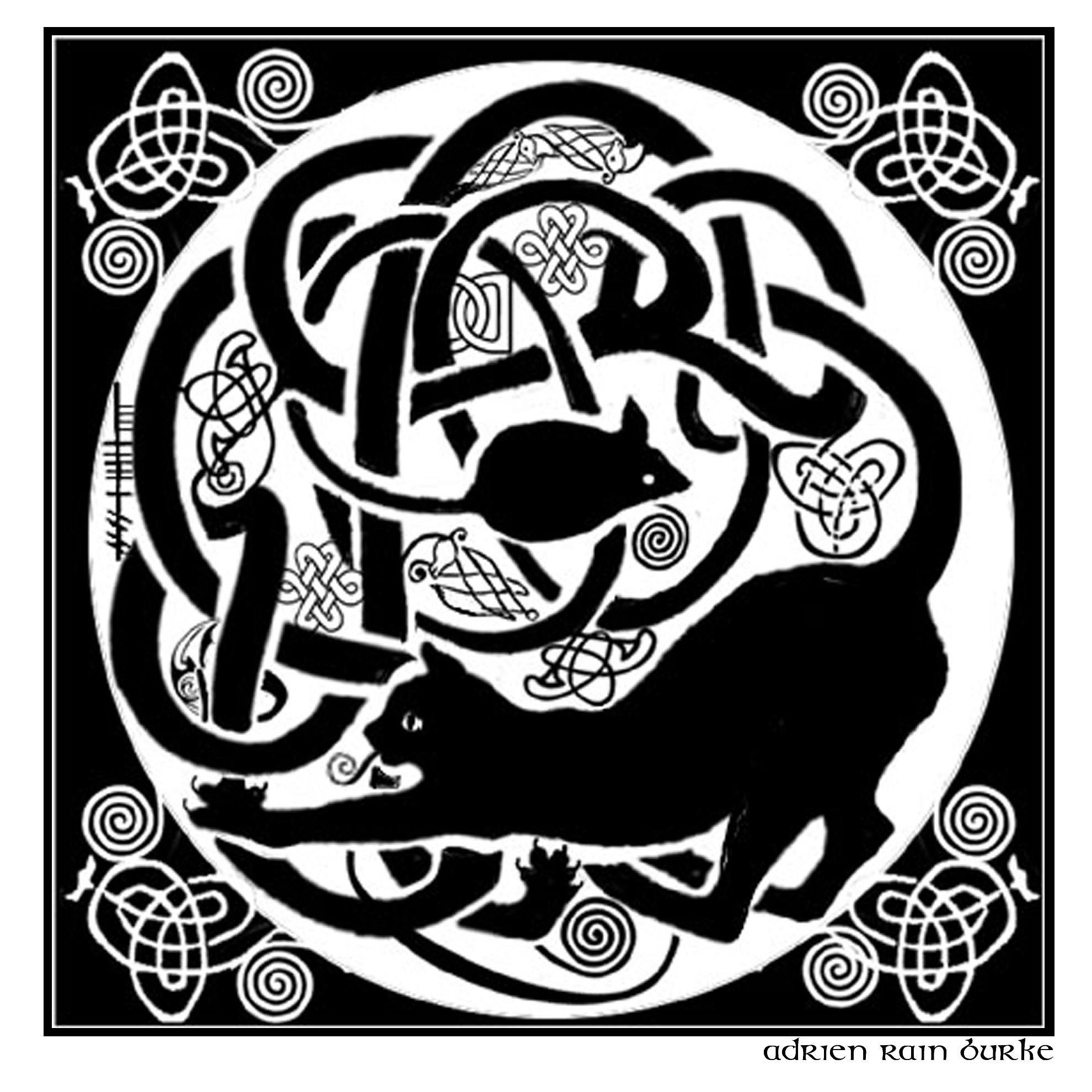Celtic cat and mouse i like this there are animals chasing each celtic cat and mouse i like this there are animals chasing each other hidden in the biocorpaavc
