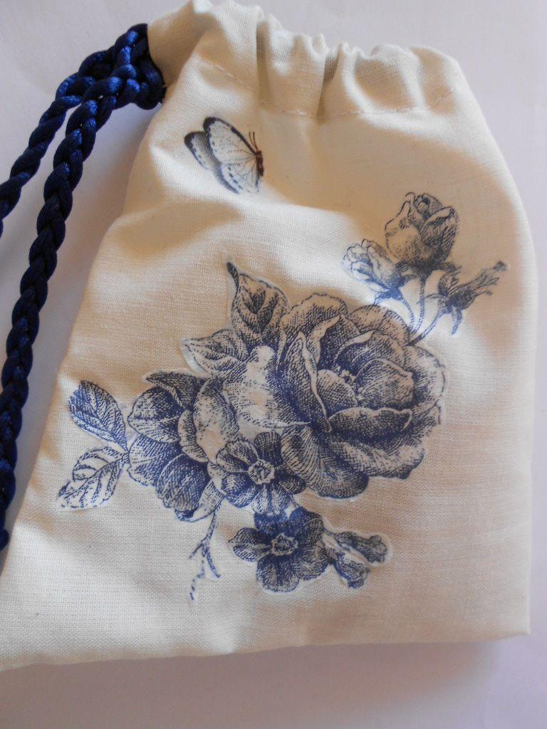 Blue Roses  Lavender sachet