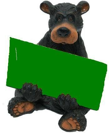 black bear christmas card holder christmas card stuff pinterest