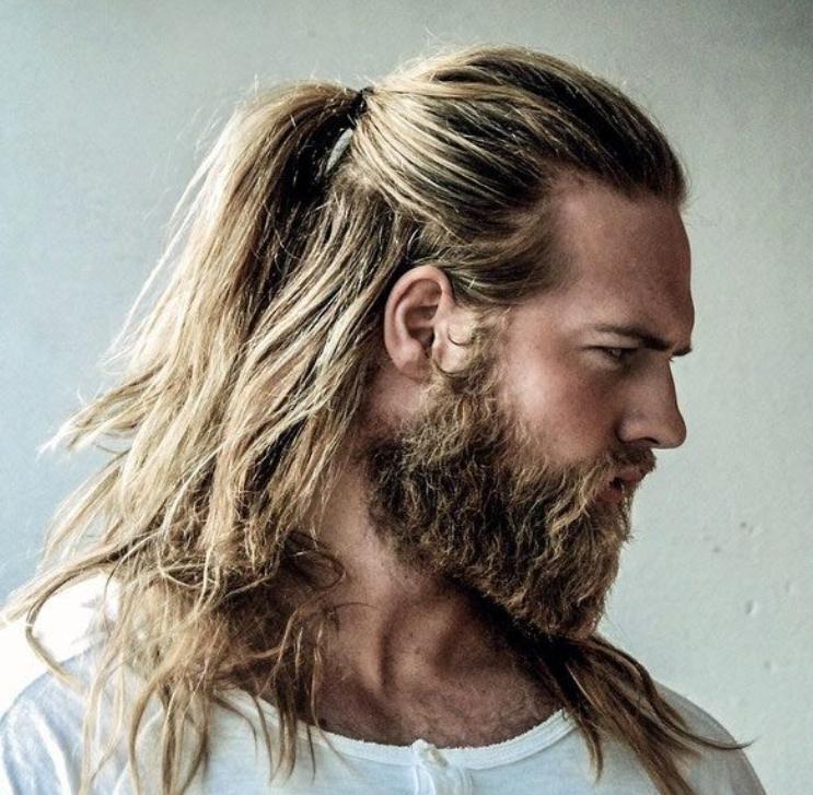 30 beliebtesten Pferdeschwanz Frisuren für Männer 2018