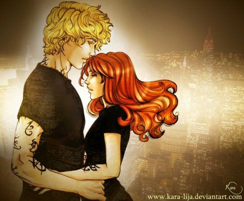 Jace and Clary - Mortal Instruments series - Cassandra Clare - Fan Art