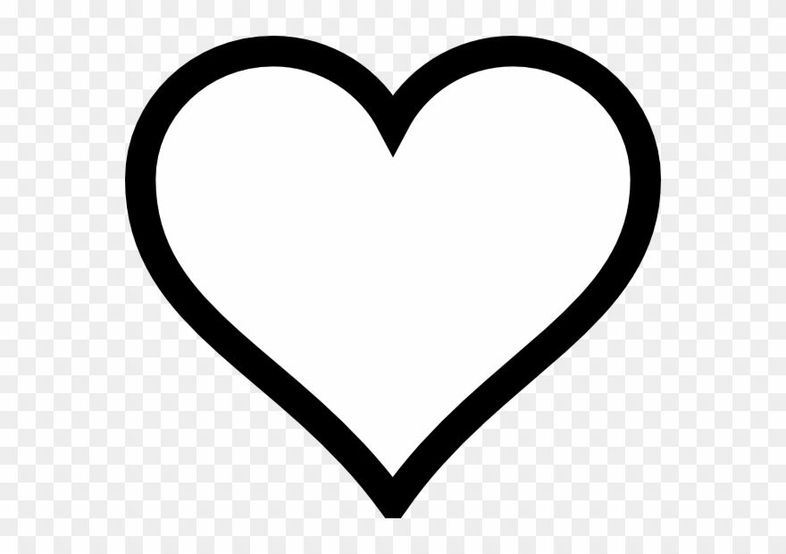 Png Black And White Heart White Heart Symbol Black And White Heart White Heart Emoji
