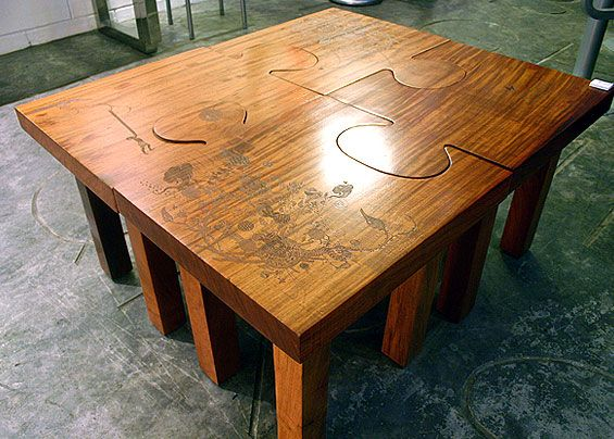 Jigsaw Puzzle Coffee Table   Google Search